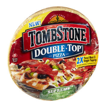 Tombstone Double Top Supreme Pizza