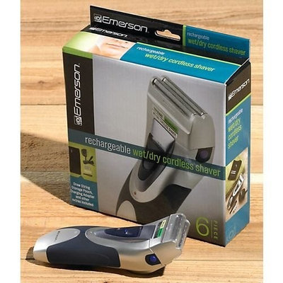Emerson Wet/Dry Cordless Shaver