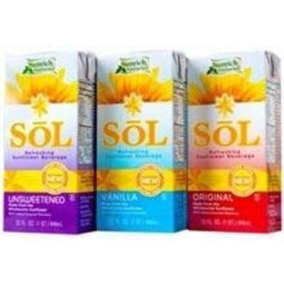 Sol Vanilla Sunflower Milk Beverage, 32 Ounce -- 6 per case.