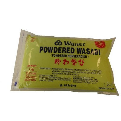 Waner Wasabi Powder Kinjirus, 2.2-Pound Units (Pack of 2)