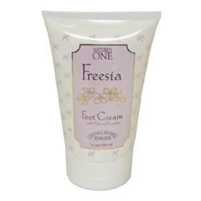 Perlier Nature's One Freesia by Perlier for Women. Foot Cream With Aloe Lanolin 4.0 Oz / 120 Ml
