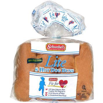 Schwebel's Schwebelâs Lite Hot Dog Buns, 12 oz