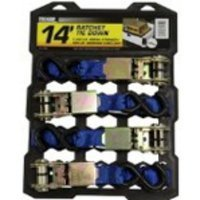 Karman Tie Down Kit with Clamps & Heavy Duty Rope