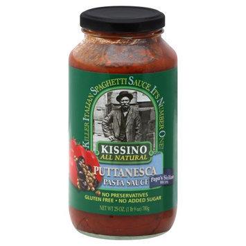 Kissino BG14892 Kissino Puttanesca Pasta Sauce - 6x24OZ