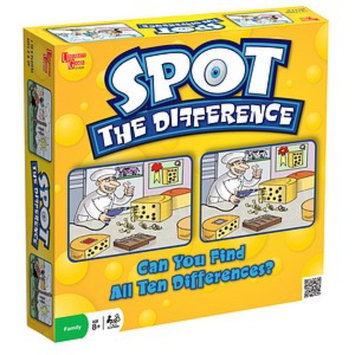 University Games Spot the Difference Ages 8+, 1 ea