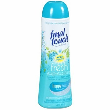 Final Touch Fresh Expressions Happy Blue Lotus & Sunshine In-Wash Laundry Scent Booster