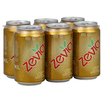 Zevia All Natural Cream Soda Soft Drink