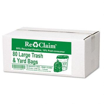 Webster Re-Claim Large Trash and Yard Bag