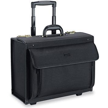 Solo USA Solo USLPV784 Rolling Laptop Catalog Case, 18. 25 inch x 10. 5 inch x 14. 75 inch, Black