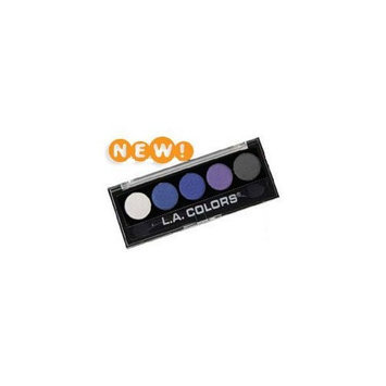 L.a. Colors LA Colors 5 Color Metallic Eye Shadow Palette 109 Devious