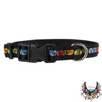 Bret Michaels Pets RockTM Logan Skull Dog Collar