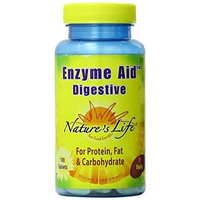Nature's Life Enzyme Aid Digestive Tablets, 100 Count