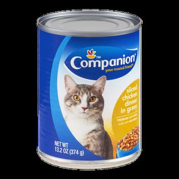 Companion Premium Cat Food Sliced Chicken Dinner in Gravy