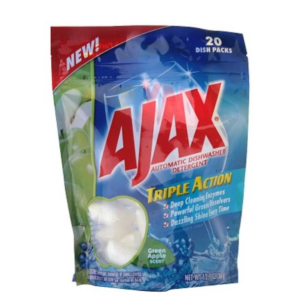 Ajax Triple Action Automatic Dishwasher Detergent