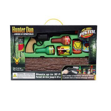 Hunter Dan Hot Shot Toy Pistol Arcade Set