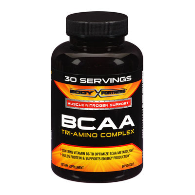 Body Fortress BCAA Tri-Amino Complex Softgels