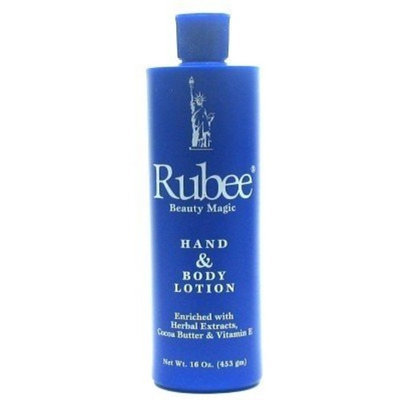 Rubee Hand & Body Lotion 16 oz. (3-Pack) with Free Nail File
