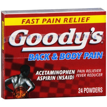 Goody's Back and Body Pain Formula, 24 ea