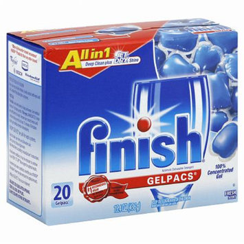 Finish Gelpacs??Dishwasher Detergent