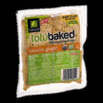 Nasoya TofuBaked Sesame Ginger