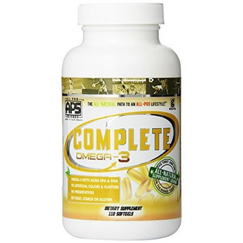 All Pro Science Complete Omega-3 Fish Oil, 110-count