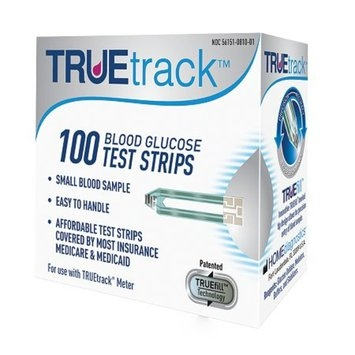 TrueTrack Smart System Blood Glucose Test Strips
