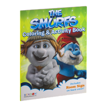 Bendon The Smurfs Coloring & Activity Book