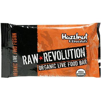 Raw Revolution Organic Live Hazelnut & Chocolate Food Bars
