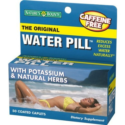 Nature's Bounty Water Pill, 50 Tablets