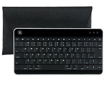 Innovative Technology Bluetooth Keyboard with Carrying Case