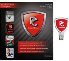 Pc Treasures PC Guardian All-in-One Lifetime PC Antivirus, Tech & Tune up