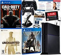 PS4 500GB Uncharted: Nathan Drake Collection w/ Call of Duty Black Ops 3 & Tech Support Bundle