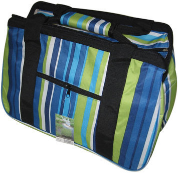 Janetbasket Blue Stripes Eco Bag 18x10x12