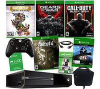 Microsoft Corp. Xbox One 1TB 3 Game Holiday with Fallout 4 & Black Ops III & accessories