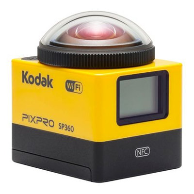 Kodak PIXPRO SP360 Digital Action Camera w/ Extreme Pack Accessories