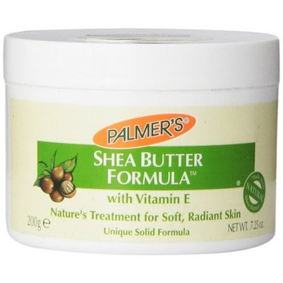 E.T. BROWNE CO. Palmer's Shea Butter Formula with Vitamin E Solid Jar, 7.25 Ounce