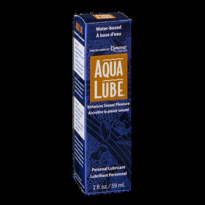 Aqua Lube Personal Lubricant