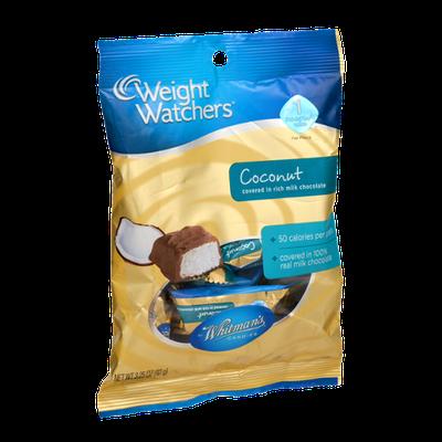 Weight Watchers Whitman's Candies Coconut Covered Milk Chocolate