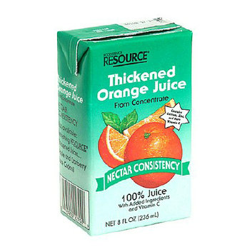 Resource Thickened Orange Juice