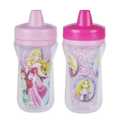 The First Years Disney Princess Insulated Straw Sippy Cup
