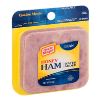 Oscar Mayer Honey Ham Water Added Lean