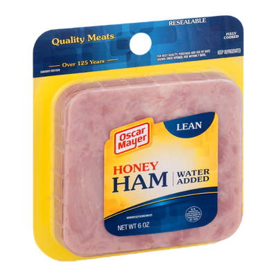 Oscar Mayer Honey Ham Water Added Lean