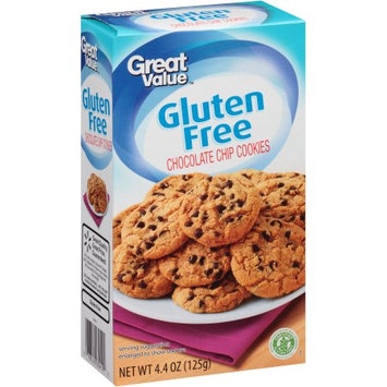 Wal-mart Stores, Inc. Great Value Gluten Free Chocolate Chip Cookies, 4.4 oz