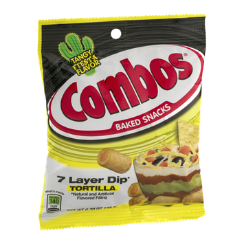Combos Baked Snacks 7 Layer Dip Tortilla