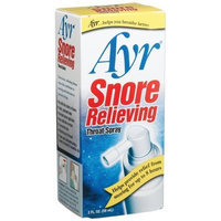 Ayr Snore Relieving Throat Spray, 2.0-Ounce Spray Bottles (Pack of 2)