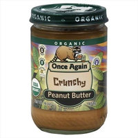 Once Again Peanut Butter, 100% organic, Crnch, 16 oz (pack of 12 ) ( Value Bulk Multi-pack)