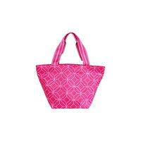 All For Color Lunch Bag Pink Geo Gem - All For Color Travel Coolers