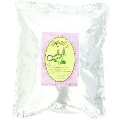 Heathers Tummy Care Peppermint Tea POUCH for Irritable Bowel Syndrome ~ Heather's Tummy Teas Loose Organic Peppermint Tea (16 oz. Bulk Pouch)