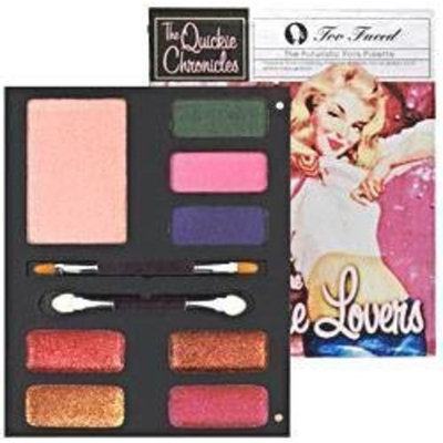 Too Faced Quickie Chronicles The Future Lovers Eye Shadow Lip Gloss & Blush Palette