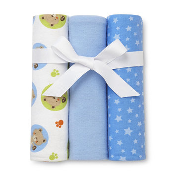 Harry V Rashti & Co. Inc. Magic Years Infant Boy's 3-Pack Receiving Blankets